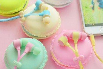 Наушники в стиле Macarons - Отличный подарок детям!