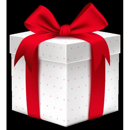 Подарок коробка с поздравлениями